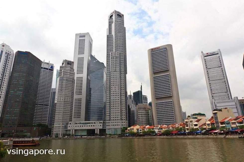Река Сингапур в 2013
