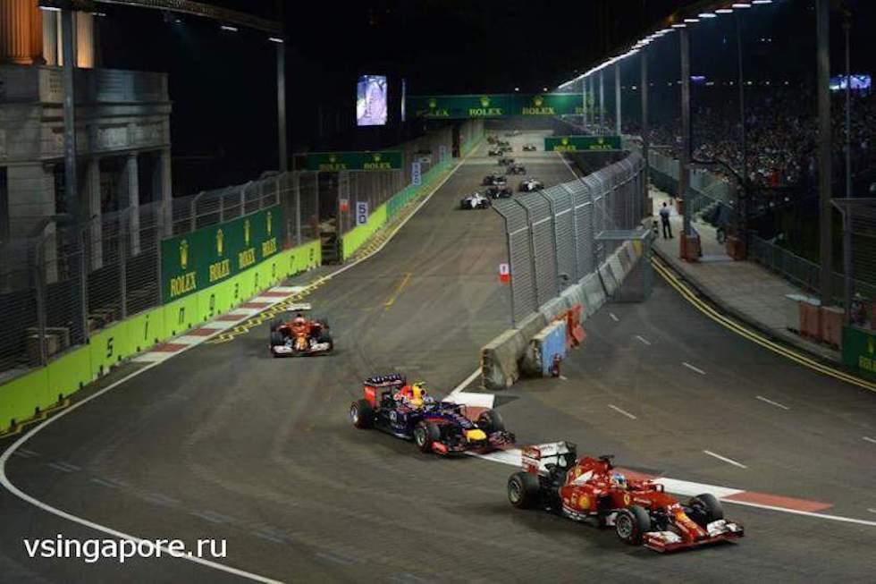 Ночная гонка Формулы-1 в Сингапуре