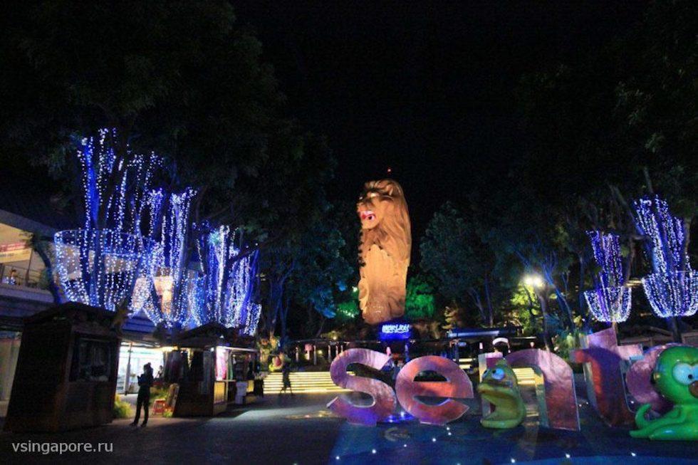 Новый год на острове Сентоза