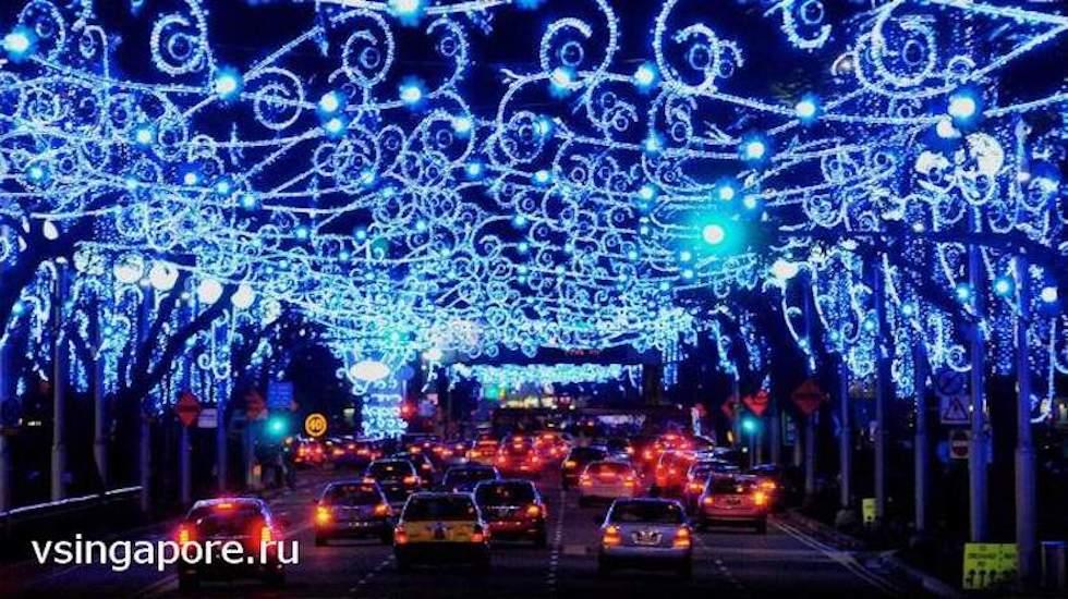 Новый год в Сингапуре 2016