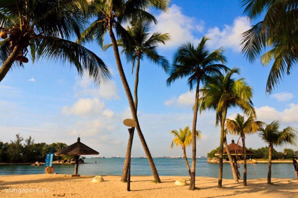 сингапур фото пляжей