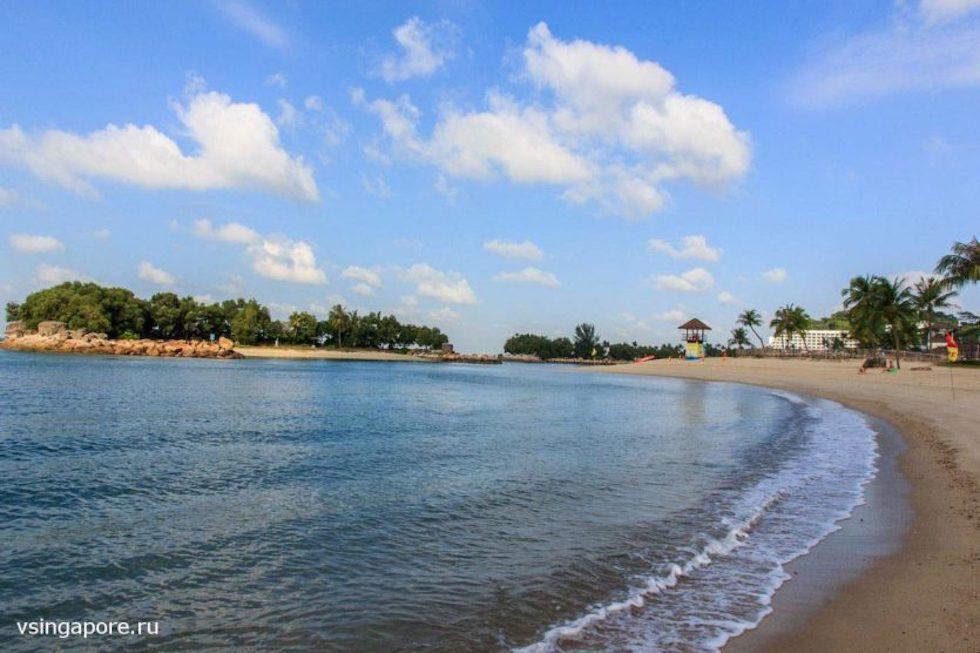 Фото пляжей острова сентоза