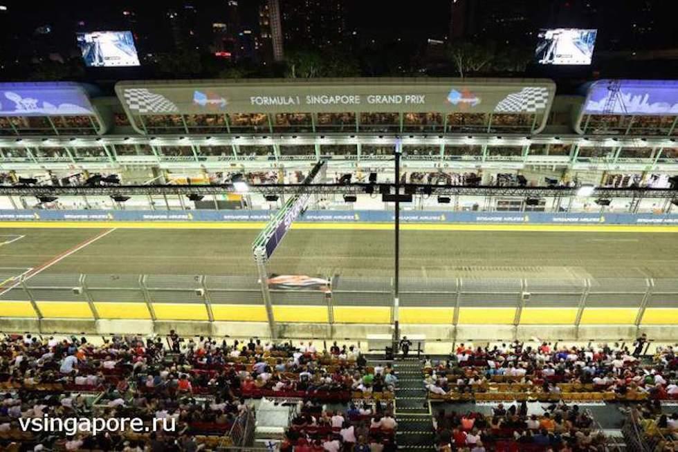 Трасса Формулы 1 в Сингапуре
