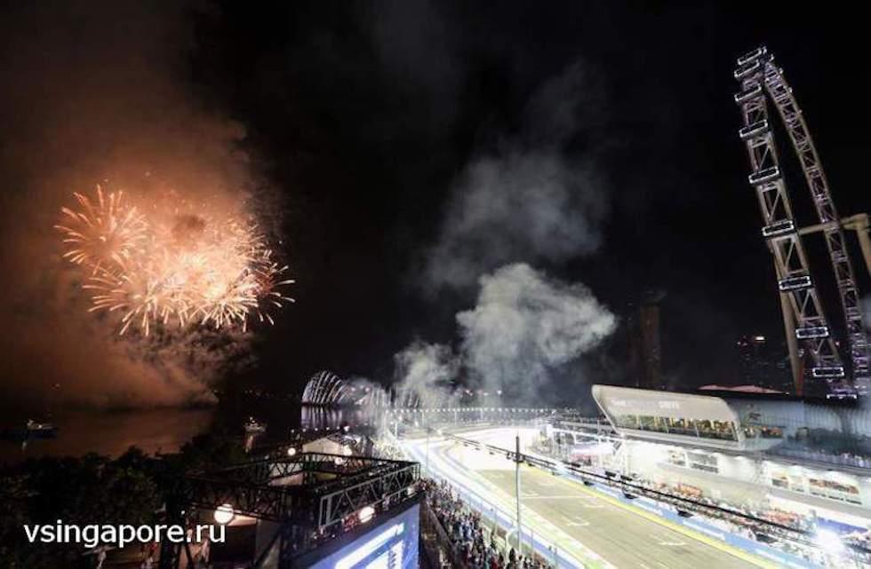 Формула-1 Сингапур 2014