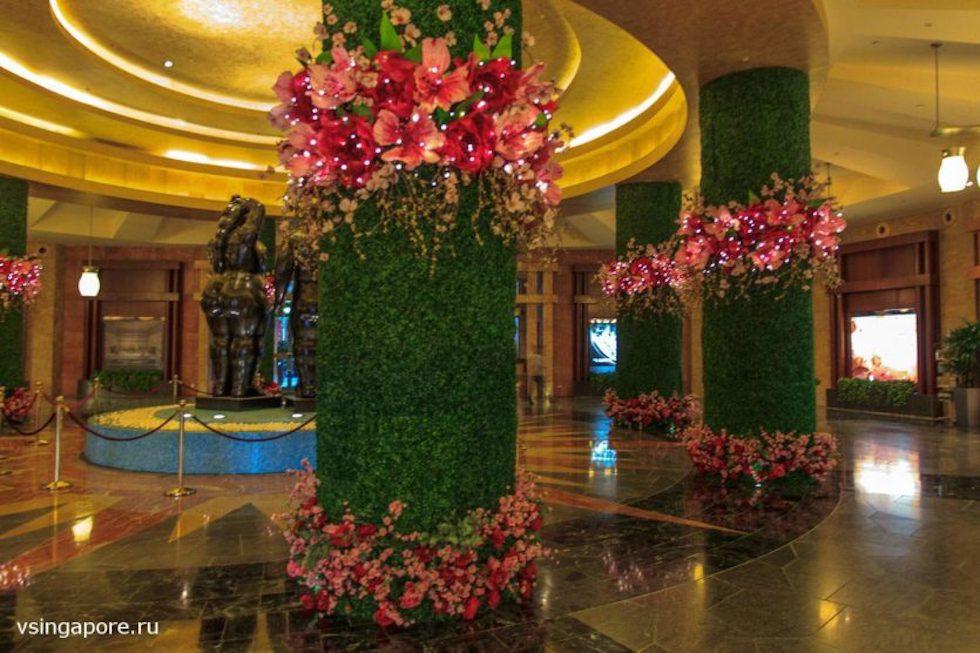 Холл в Festive Hotel