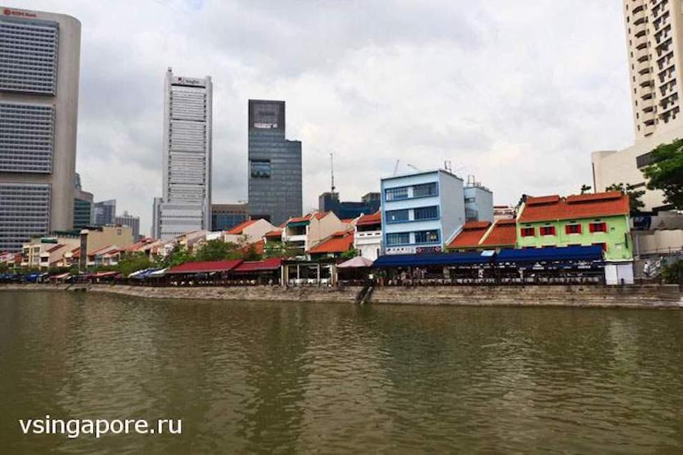 Исторические набережные реки Сингапур