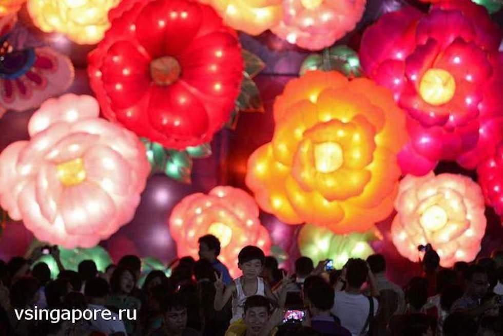 Китайский новый год Сентоза Сингапур