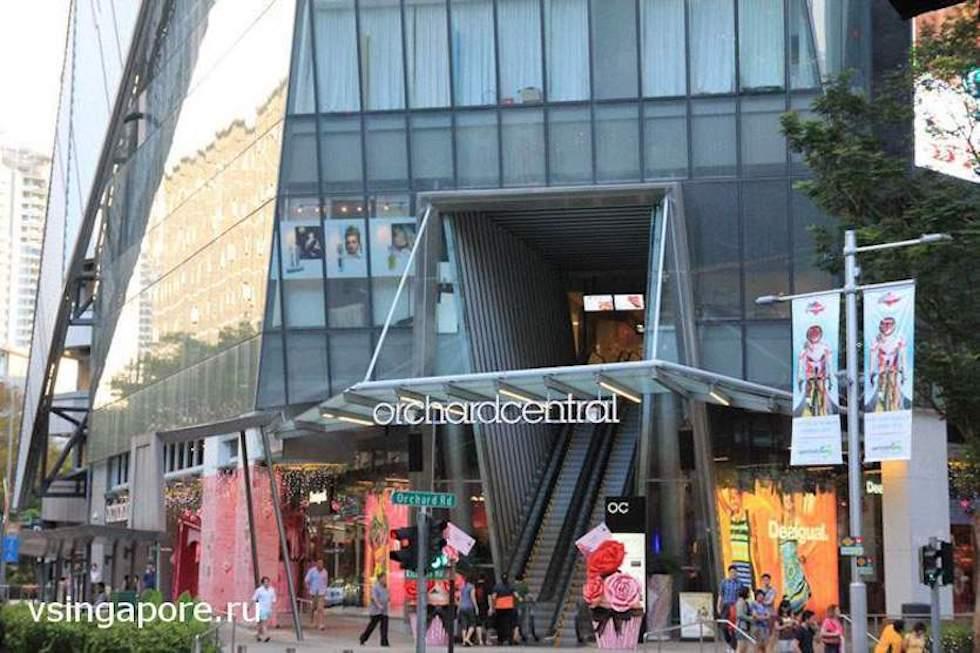 Магазины в Сингапуре