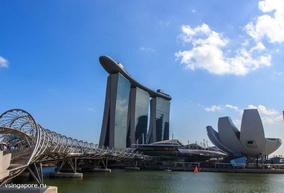 Марина Бэй Сэндс Сингапур