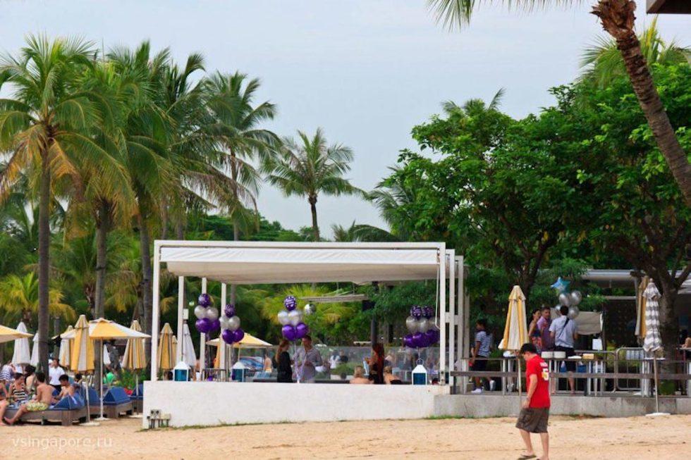 Пляжный клуб Tanjong Beach Club