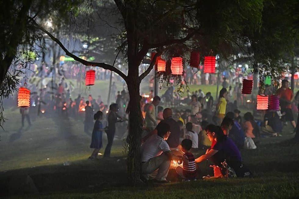 Праздник Середины осени Сингапур