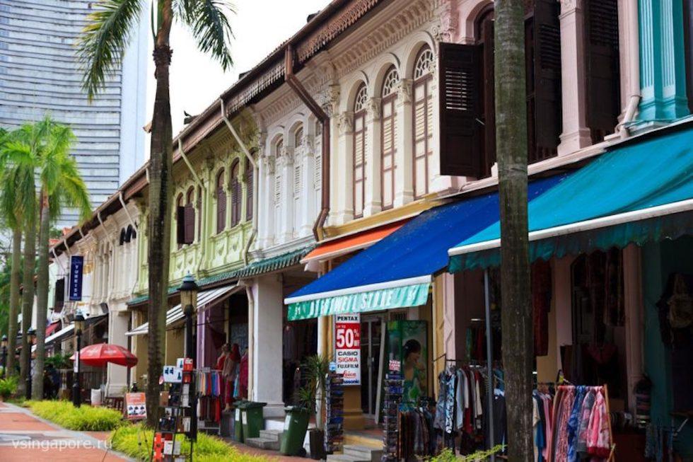 Распродажи в этнических кварталах Сингапура
