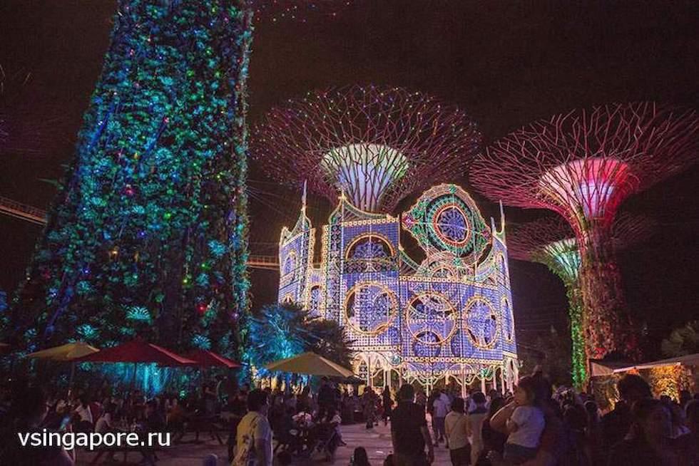 Рождественская ярмарка в Сингапуре