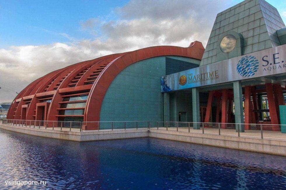 S.E.A. Aquarium Сентоза Сингапур