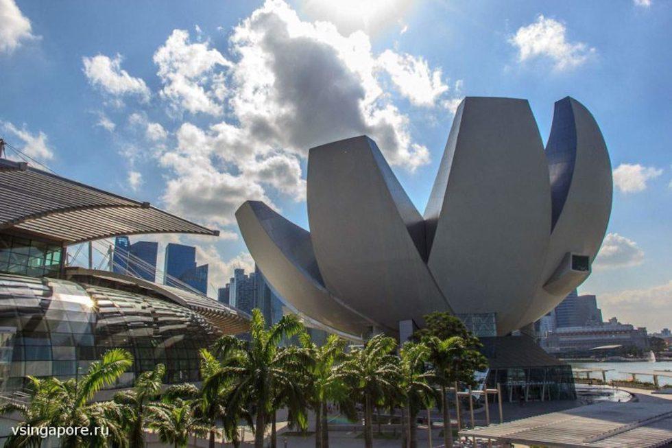 Музей ARTSCIENCE MUSEUM Сингапур