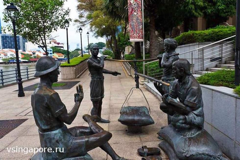 Сингапур - бывшая колония Британской империи