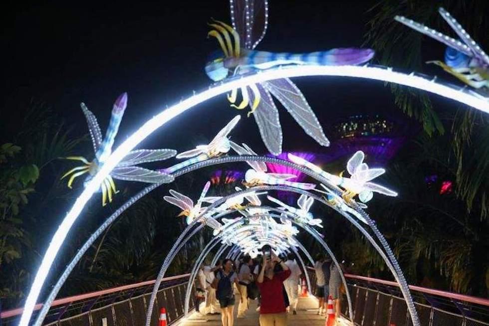 Сингапур во время Фестиваля Середины Осени