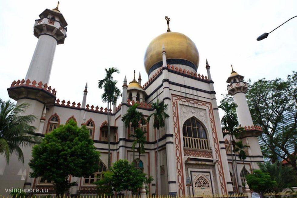 Султанская Мечеть в Сингапуре