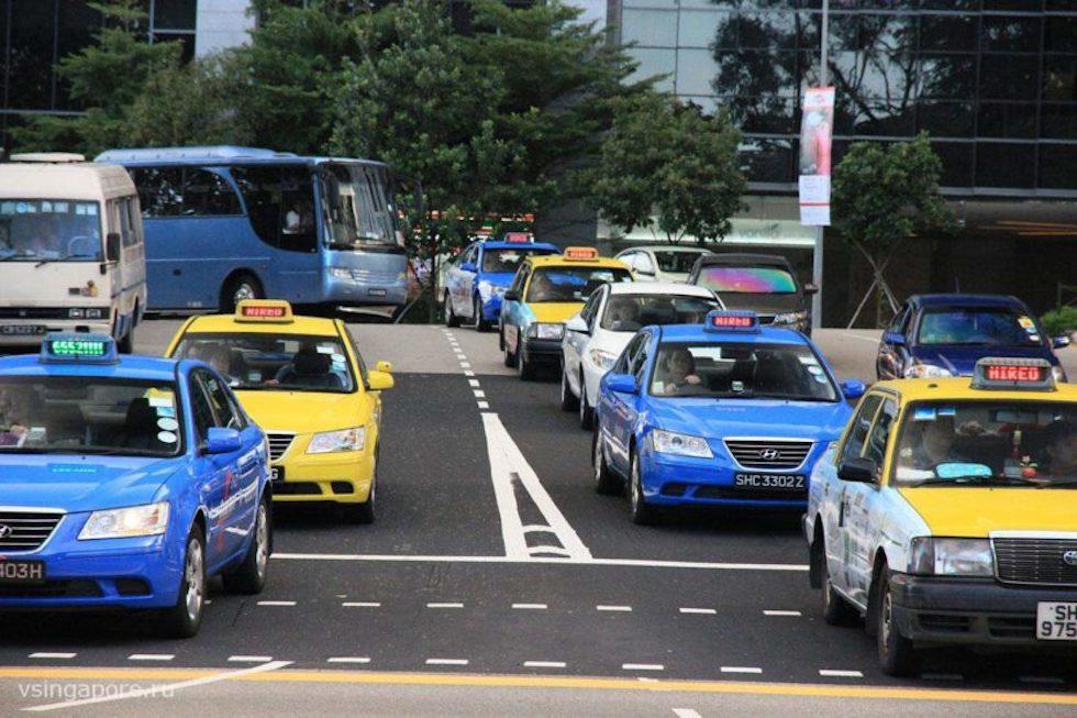 Такси Сингапура