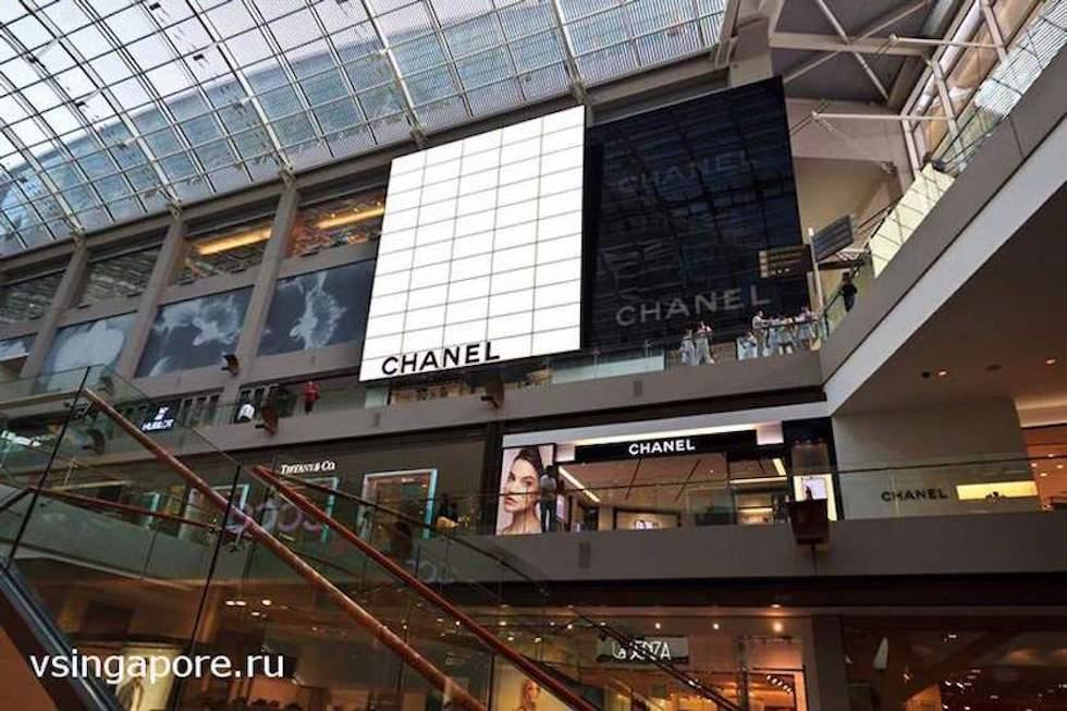 Торговые центры Сингапура