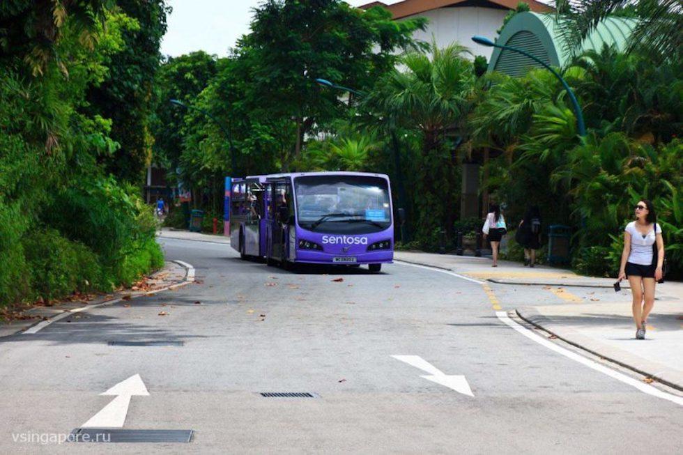 Транспорт на острове Сентоза