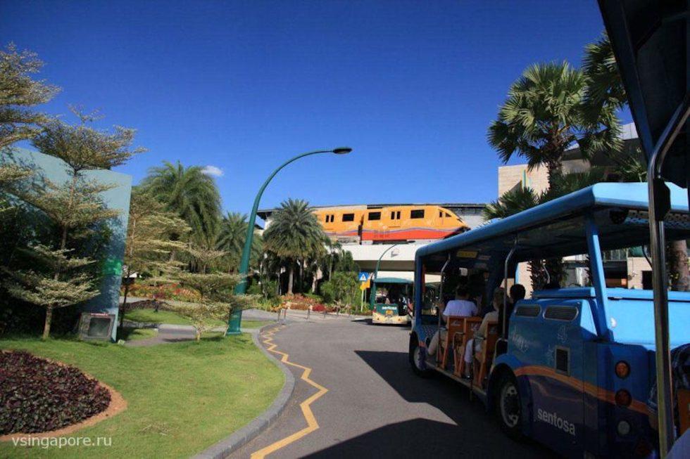 Транспорт острова Сентоза