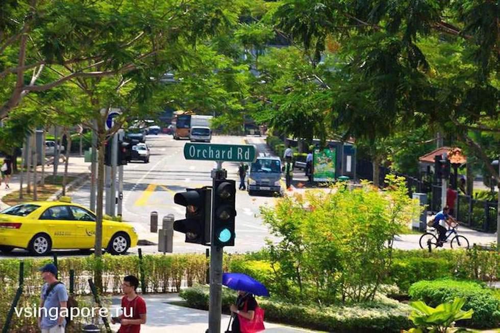 Улица шопоголиков Orchard Road