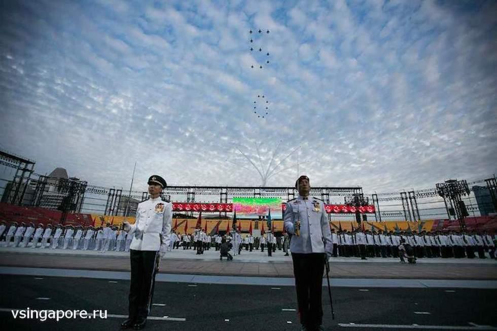 Военный парад, Сингапур