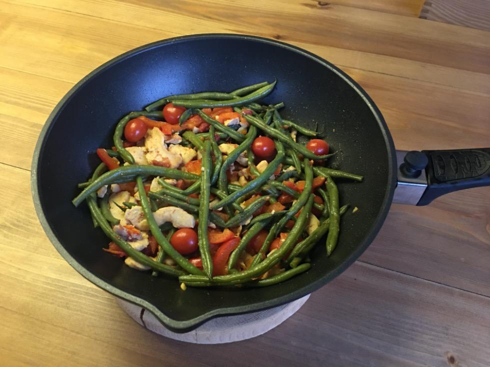 Стручковая фасоль с мясом рецепт